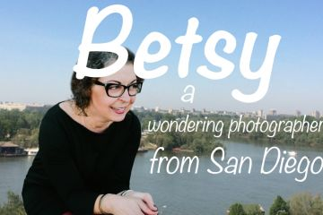 Betsy, a wondering photographer from San Diego