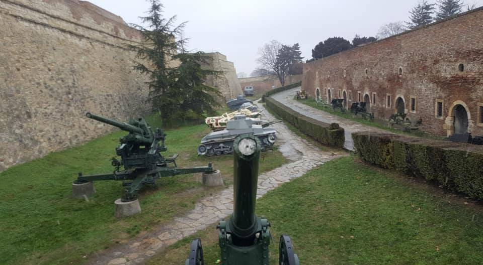 Military Museum at Belgrade Fortress