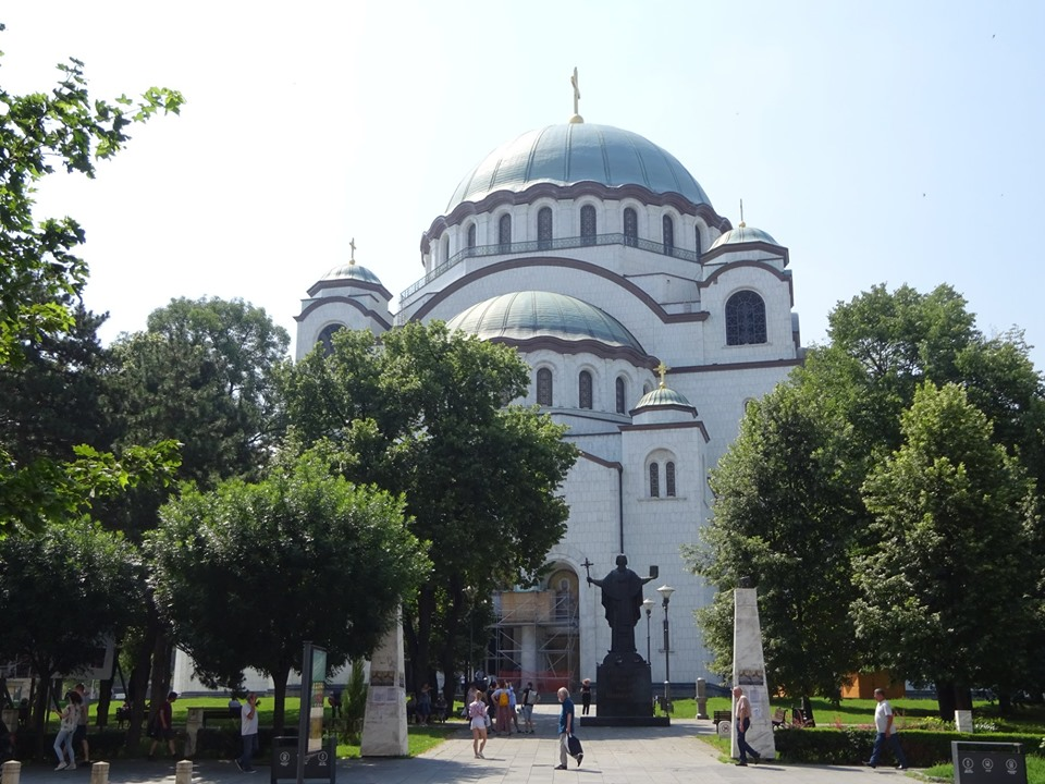 Church of St. Sava and monument to St. Sava