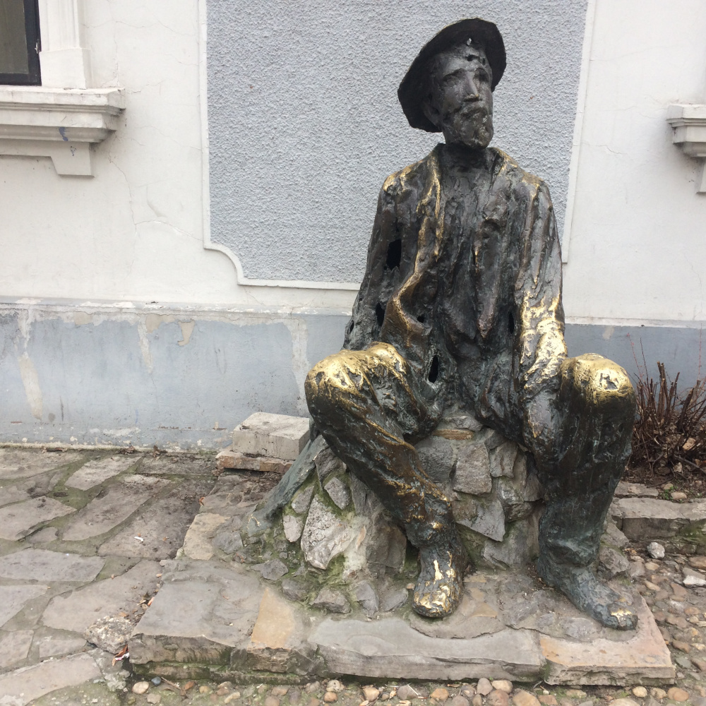 Monument to Djura Jakšić, painter and writer