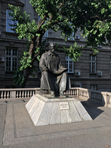 Monument to NikolaTesla