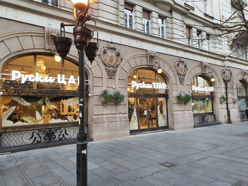 Famous Russian Tzar coffe bar reopened