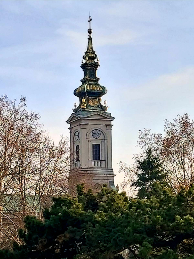 Bell Tower of the Cathedral Church of St. Michael